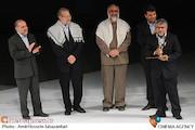 تجلیل از مرتضی شعبانی در افتتاحیه سیزدهمین جشنواره بین المللی فیلم مقاومت
