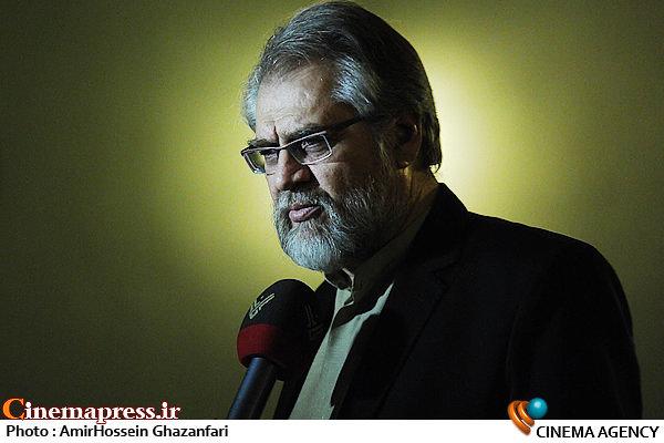 نادر طالب زاده در افتتاحیه سیزدهمین جشنواره بین المللی فیلم مقاومت