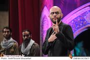 بابک حمیدیان در اختتامیه سیزدهمین جشنواره بین المللی فیلم مقاومت
