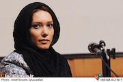 شهرزاد کمالزاده در جلسه نقد و بررسی فیلم روزگاری عشق و خیانت در دانشگاه صنعتی شریف