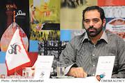 حامد بامروت نژاد در نشست خبری پنجمین جشنواره فیلم عمار