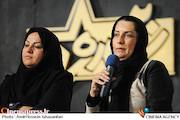 فریبا کوثری و فاطمه سمرقندی در نشست خبری مسابقه بازیگری ستاره ۲۰