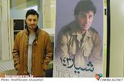 جواد عزتی در افتتاحیه فیلم سینمایی شیار ۱۴۳
