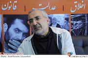 حضور محمد قهرمانی در غرفه در بیستمین نمایشگاه مطبوعات و خبرگزاریها