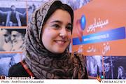 مهسا هاشمی در ششمین روز بیستمین نمایشگاه مطبوعات و خبرگزاریها