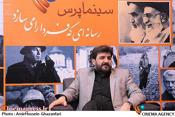 ابراهیم اصغری در هفتمین روز بیستمین نمایشگاه مطبوعات و خبرگزاریها