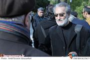 مجید انتظامی در تشییع پیکر مرحوم علیرضا خورشیدفر