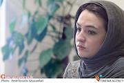 گلاره عباسی در نشست نقد و بررسی فیلم سینمایی شیار ۱۴۳