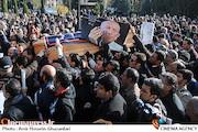 مراسم تشییع پیکر مرحوم مرتضی احمدی