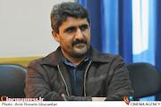 یزدان عشیری در نشست خبری چهارمین جشنواره فیلم کوتاه خورشید