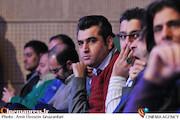 محسن خانجهانی در افتتاحیه سی و سومین جشنواره بینالمللی فیلم فجر