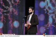 سحاب زریباف در افتتاحیه سی و سومین جشنواره بینالمللی فیلم فجر