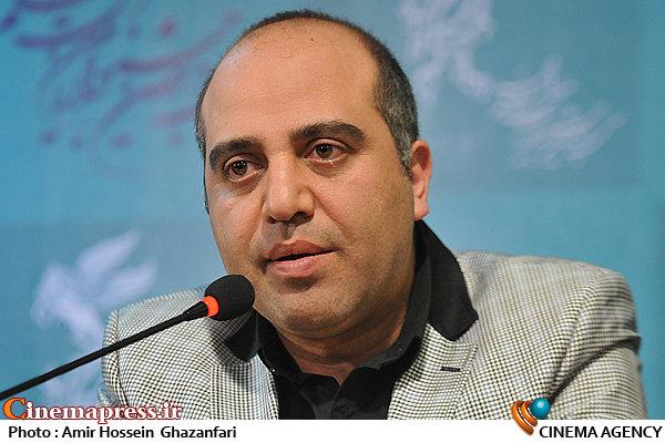 شهرام شاه حسینی در نشست خبری فیلم سینمایی«خانه دختر»