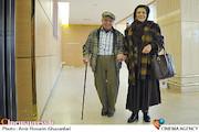 مهوش وقاری و محسن قاضی مرادی در حاشیه سی و سومین جشنواره بینالمللی فیلم فجر