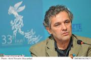 مهرداد غفارزاده در نشست خبری فیلم سینمایی«دریا و ماهی پرنده»