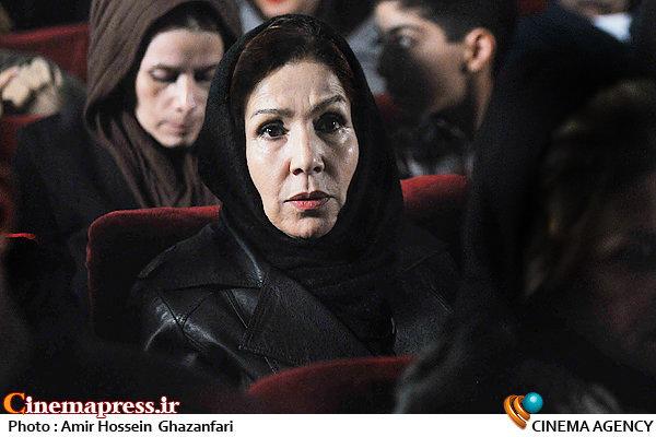 مهین نویدی در اکران فیلم سینمایی«لامپ صد»