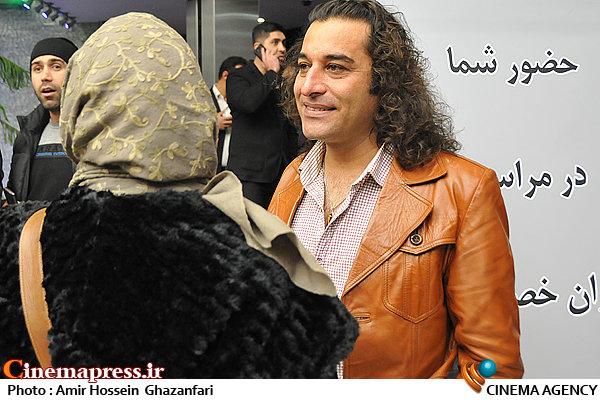 محسن دارسنج در اکران خصوصی فیلم سینمایی«ارسال آگهی تسلیت برای روزنامه»
