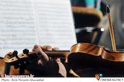 تمرین ارکستر سمفونیک تهران با حضور علی رهبری