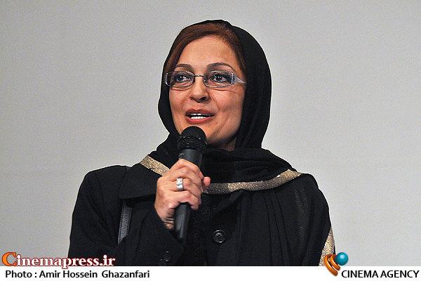 بیتا منصوری در اکران خصوصی فیلم سینمایی«رخ دیوانه»