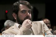 مجتبی امینی در مراسم افتتاحیه جشنواره فیلم سماء