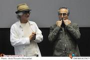 فرهاد توحیدی در اکران خصوصی فیلم سینمایی«من دیه گو مارادونا هستم»