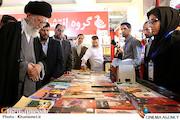 بازدید رهبر معظم انقلاب از بیست و هشتمین نمایشگاه کتاب تهران