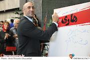 امیر احمد انصاری در اکران خصوصی فیلم سینمایی«هاری»
