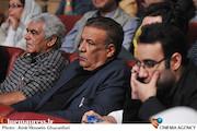 عبدالرضا اکبری و علیرضا فتحی در  اختتامیه پنجمین جشنواره بینالمللی فیلم شهر