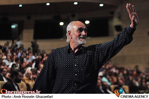حسین ملکی در اختتامیه پنجمین جشنواره بینالمللی فیلم شهر