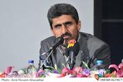 یزدان عشیری در نشست خبری جشنواره بینالمللی فیلم محمد(ص) پیامبر صلح