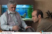 سعید چنگیزیان و محمد متوسلانی در سریال گاهی به پشت سر نگاه کن
