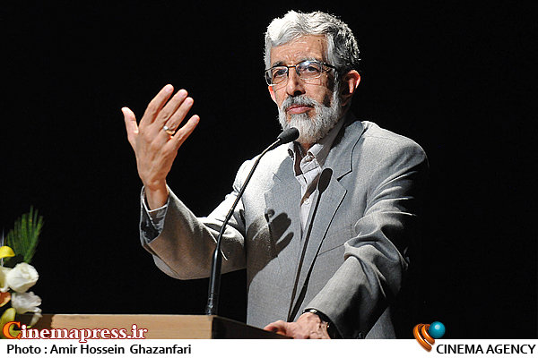 سخنرانی غلامعلی حدادعادل در اختتامیه جشنواره قلم زرین