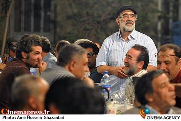 اصغر نقی زاده در ضیافت افطار انجمن سینمای انقلاب و دفاع مقدس