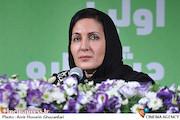 فاطمه گودرزی در نشست خبری جشنواره فیلم و عکس مادر