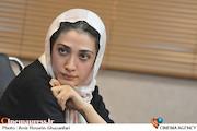 مینا ساداتی در نشست خبری سریال «تنهایی لیلا»