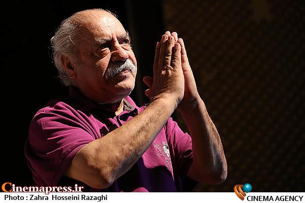 بهزاد فراهانی در اختتامیه هفدهمین جشنواره نمایش های آئینی و سنتی