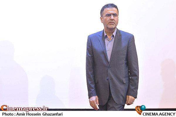 حجت اله ایوبی در مراسم اهدای جوایز مسابقه فیلمنامه نویسی پیامبر رحمت(ص)