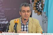 شهرام کرمی در نشست خبری چهارمین جشنواره تئاتر شهر