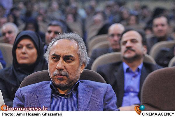 حسین مسافر آستانه در تودیع و معارفه مدیرعامل موسسه رسانه های تصویری