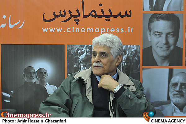 هارون یشایایی در بیست و یکمین نمایشگاه مطبوعات