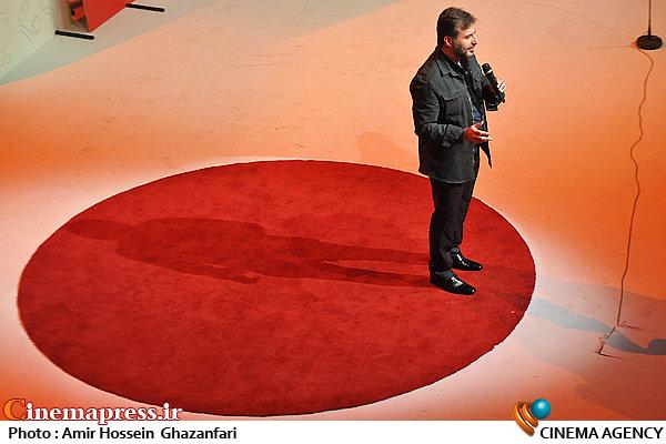 سیدجواد هاشمی در اختتامیه پانزدهمین جشنواره سراسری تئاتر مقاومت