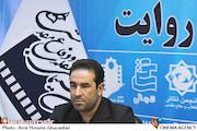 رسول شادمانی در نشست خبری مدیرعامل انجمن سینمای انقلاب و دفاع مقدس