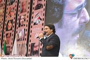 علیرضا افتخاری در افتتاحیه ششمین جشنواره مردمی فیلم عمار