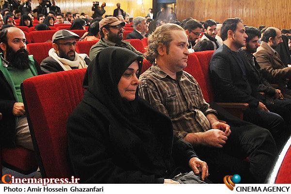 صادق صادق دقیقی و پروانه مرزبان در افتتاحیه ششمین جشنواره مردمی فیلم عمار