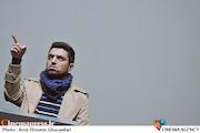 اشکان خطیبی در نشست خبری جشنواره هنر ضدخشونت و افراط گری