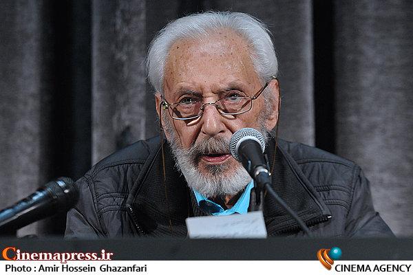 جمشید مشایخی در نشست خبری جشنواره هنر ضدخشونت و افراط گری