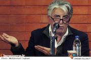 رضا کیانیان در اعطای عضویت افتخاری عکاسان خانه سینما