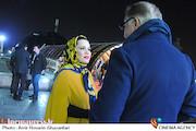 ملیکا شریفی نیا در اولین روز سی و چهارمین جشنواره فیلم فجر
