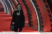 ملیکا شریفی نیا در دومین روز سیوچهارمین جشنواره فیلم فجر