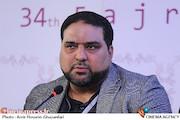 پژمان لشگری پور در نشست خبری فیلم سینمایی«بادیگارد»